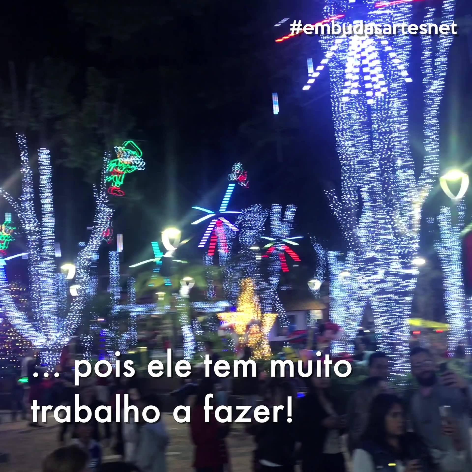 Veja em imagens como foi a inauguração do Natal Iluminado 2018