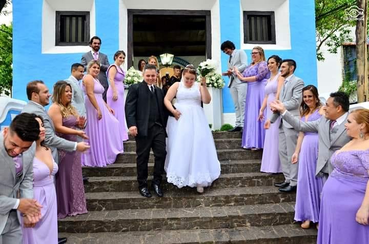 Uau! Veja como foi o raro casamento na Capela de São Lázaro
