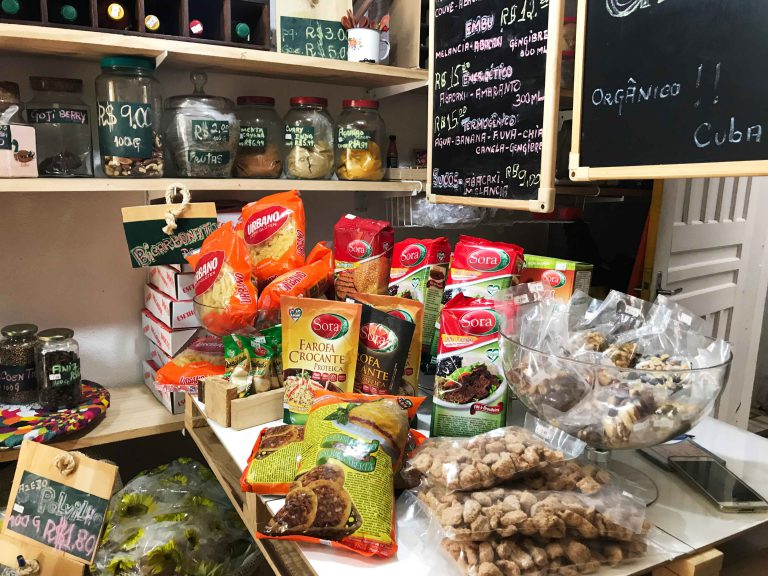 Novidade! Confira preços e produtos do Espaço Vegano