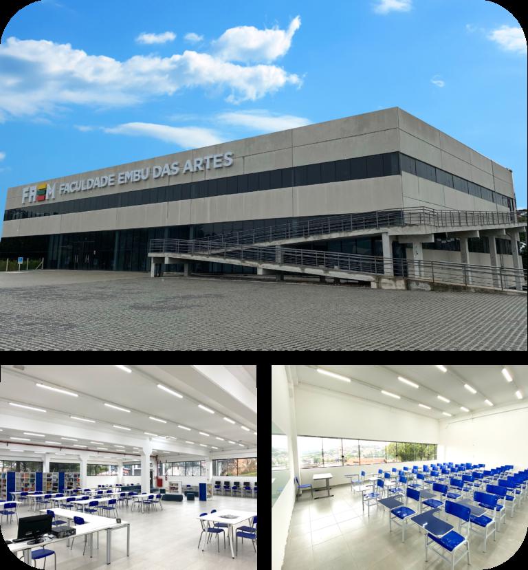 FAEM Faculdade Embu das Artes chega na cidade com cursos de direito, enfermagem, enfermaria e educação física