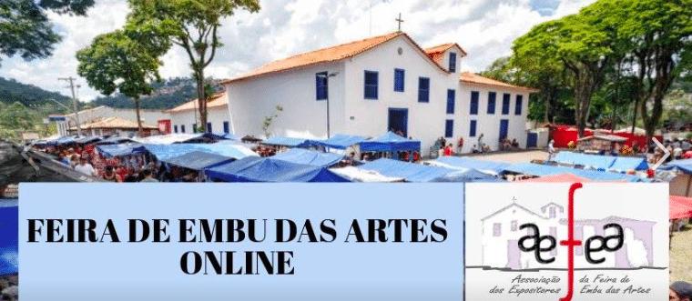 Aproveite! Feira de Embu das Artes tem grupo no Facebook para vendas online